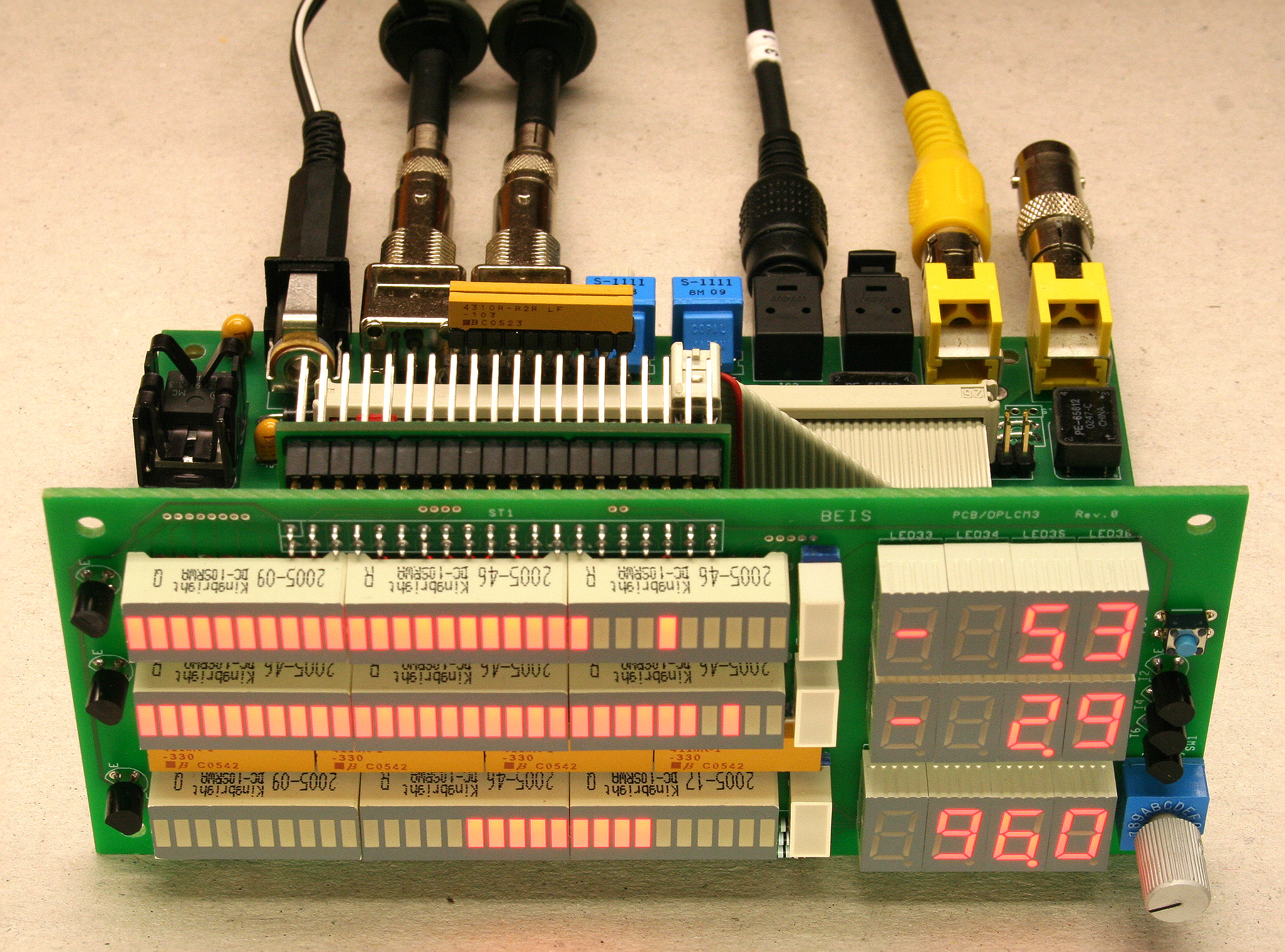 An FPGA-Based Peak Audio Level and Correlation Meter with S/PDIF Inputs